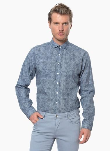 NetWork Gömlek İndigo